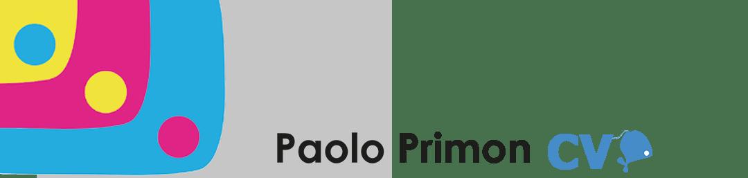 Curriculum Vitae Artistico di Paolo Primon
