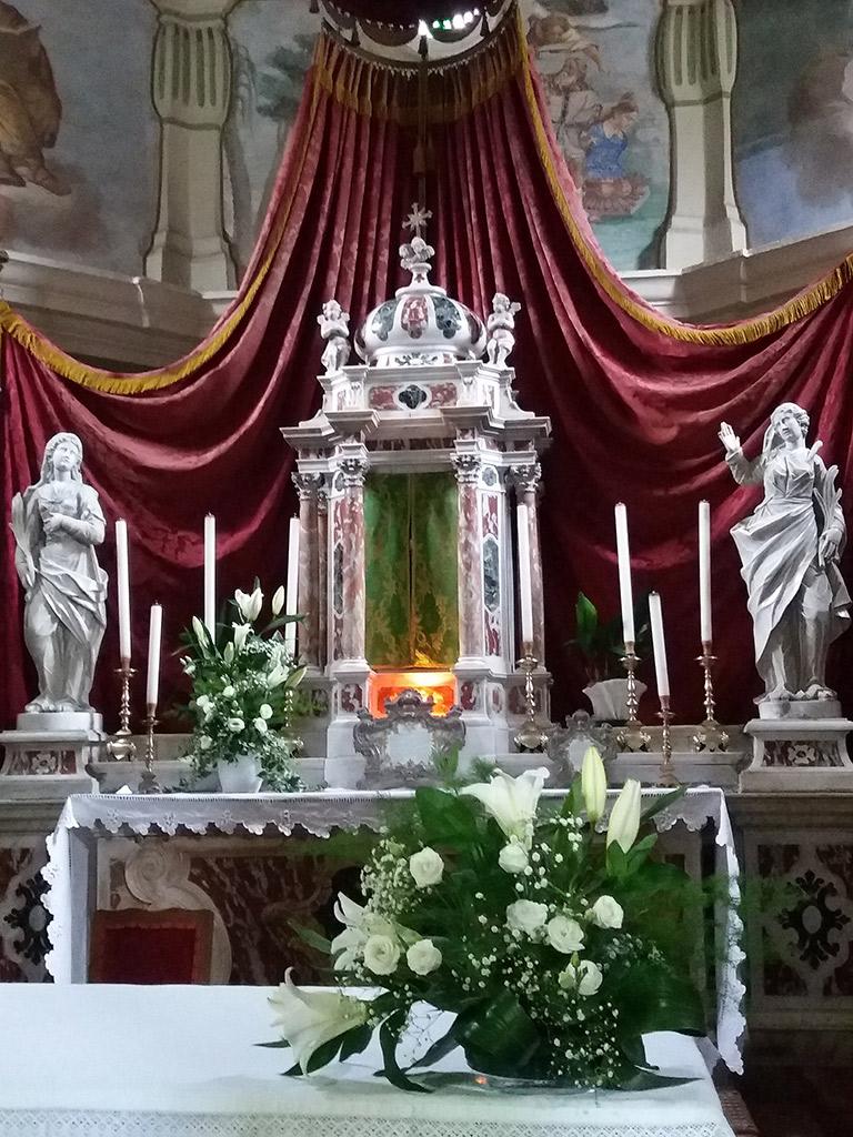 Altare Chiesa  SS. Fosca e Maura - Frisanco - Foto di Angelo Bernardon