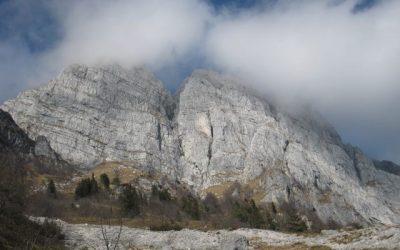 Forcella Capra e Monte Raut