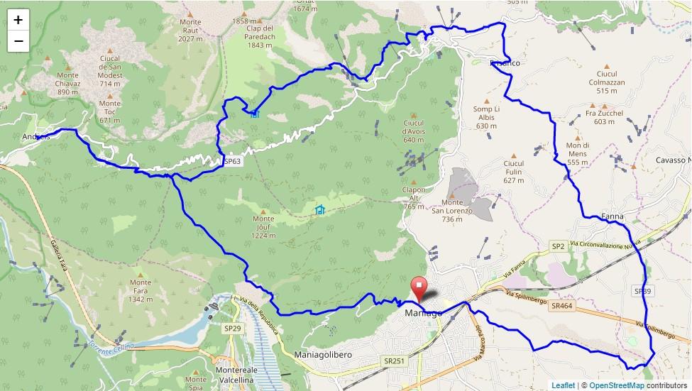 Sentiero Frassati del Friuli Venezia Giulia