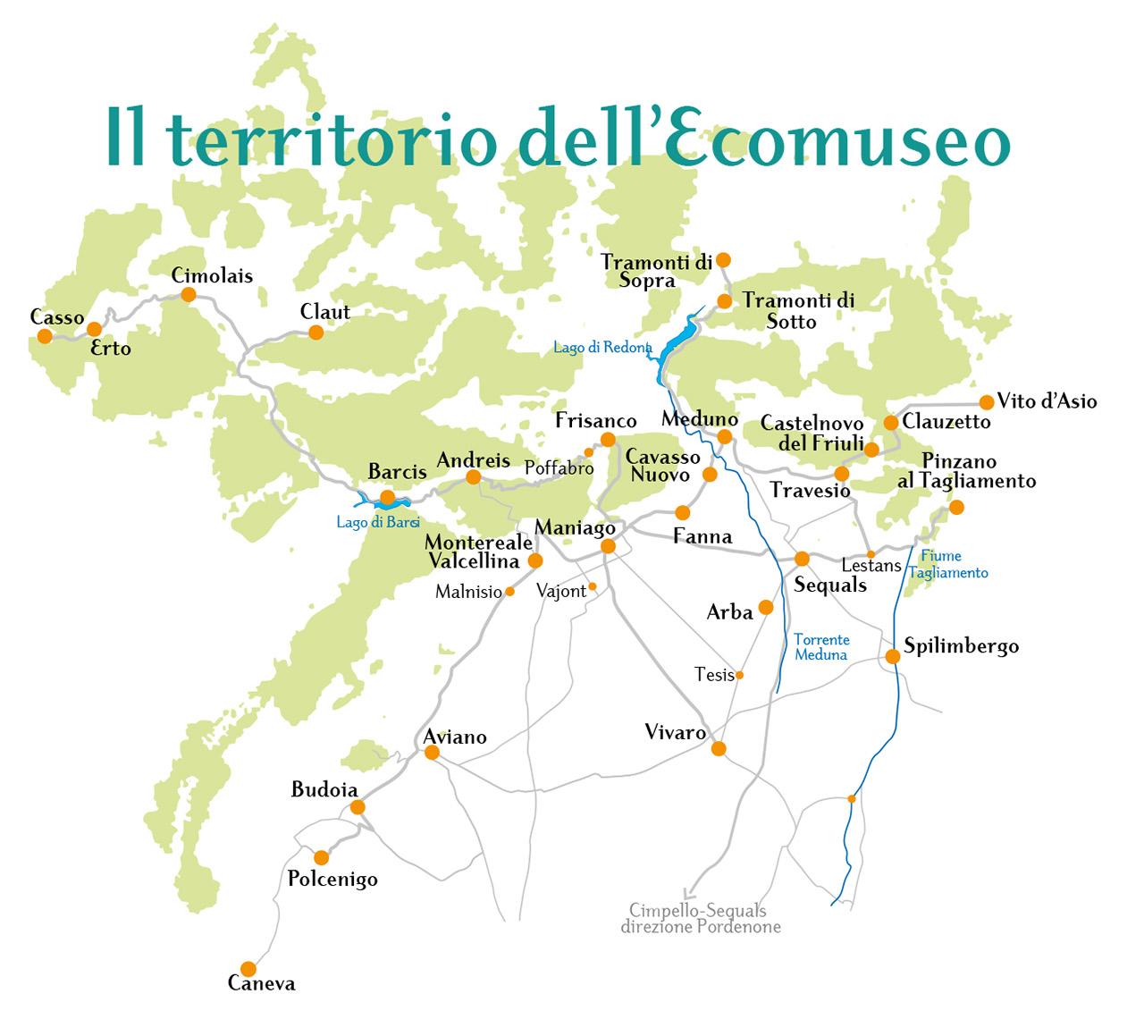 Territorio dell'Ecomuseo