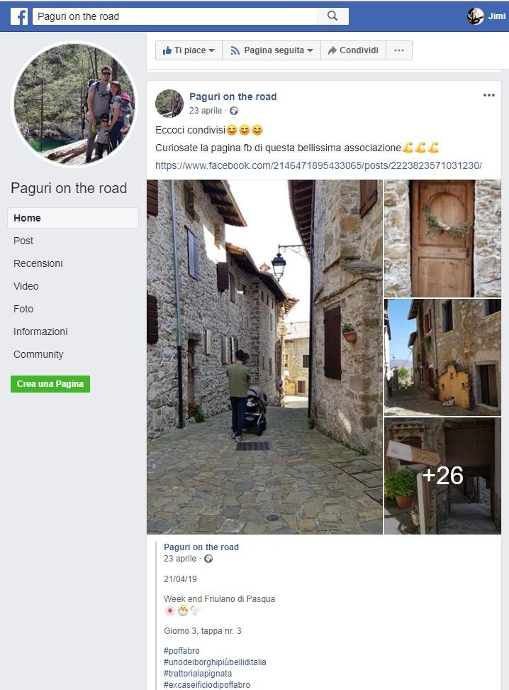 Paguri on the road #facebook