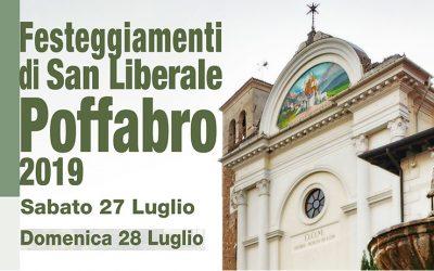 Festeggiamenti di San Liberale – Poffabro 2019