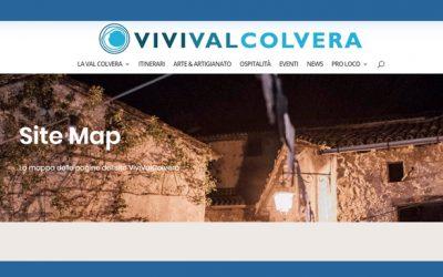 La site map del nostro sito