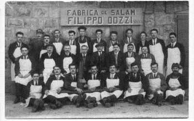 La Storia di Barba Nane ed il Salame Ungherese