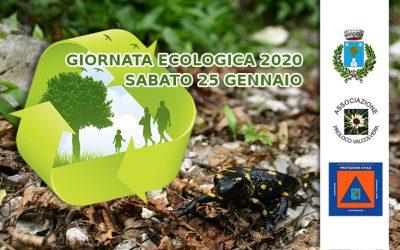 Giornata Ecologica – Sabato 25 Gennaio 2020