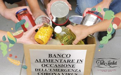 Banco Alimentare al TaliMarket – Coronavirus