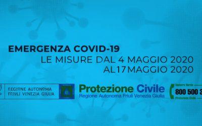 Ordinanza Fase 2 FVG emergenza epidemiologica da COVID-2019