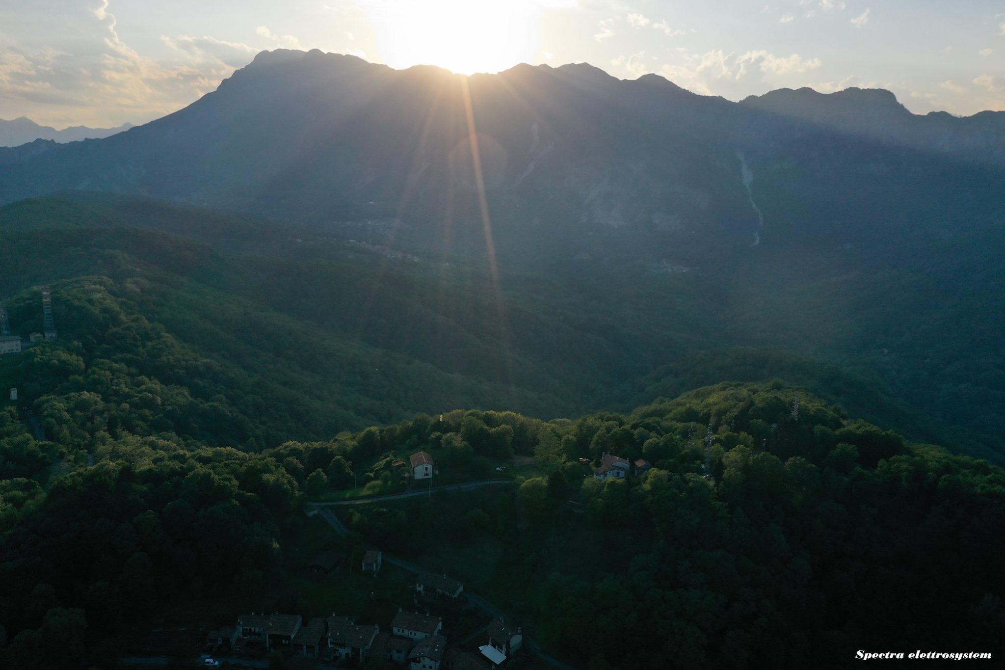 Panorama sulla Val Colvera - foto di Spectra Elettrosystem - Maniago PN